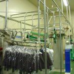 自動包装機及び立体検針機の コンベアー連動システム