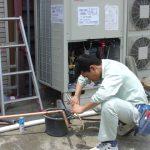 空調取付工事